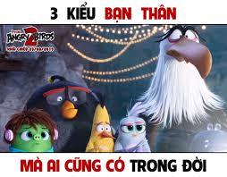 Phim Angry Birds - AB2 | 3 kiểu bạn thân