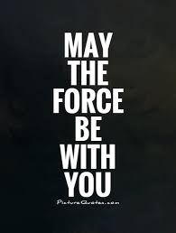 May The Force Be With You Picture Quotes Best Famous Star Wars Quotes