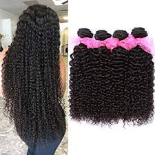 Amazon Com 10a Malaysian Virgin Curly Hair 4 Bundles 22 24