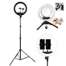 Ring Light With Phone Holder