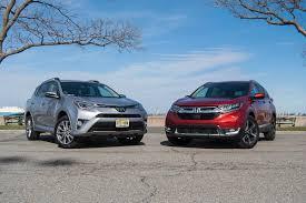 Head-to-head Comparison Test: 2017 Honda CR-V vs. 2017 Toyota RAV4 ...