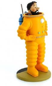 Kapitein Haddock Van Kuifje Als Astronaut 12cm Hobbyenspeelgoednl