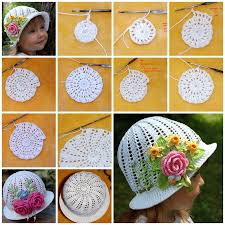view in gallery diy crochet pretty panama hat for girls f31 gorgeous crochet hat for little princesses free pattern