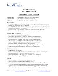 Appointment Setter Resume Appointment Setter Resume Sample shalomhouseus 1
