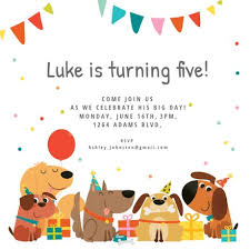 kids birthday party invitations kids birthday invitation templates free greetings island