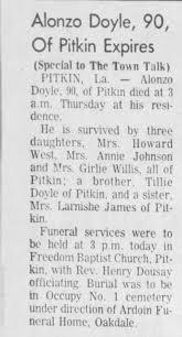 Alonzo Doyle - Newspapers.com