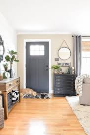 Ranch House Interior Designs Custom A Beautiful Modern Farmhouse Entryway In A Small Ranch Style Home