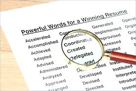 Adjective For Resumes Words For Resumes Describing Yourself Resume Good Adjective