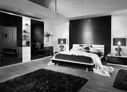 Lovely Black And White Bedroom Design about House Decorating Ideas with  Black And White Bedroom Cool Black White And Silver Bedroom Ideas