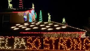 Christmas Light Show At Walmart Horizon City Christmas Lights Display Honors Walmart