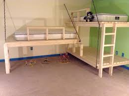 Loft Bedroom Furniture Outstanding Girls Loft Bed Design Ideas Featuring White Wooden