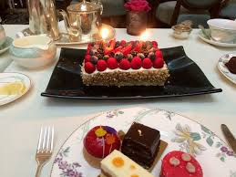 Birthday Cake Picture Of Afternoon Tea At The Savoy London