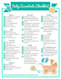 baby item checklist baby items making the web com