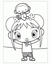 Nick Jr Characters Coloring Pages