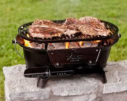 lodge l410 pre seasoned sportsman s charcoal grill black