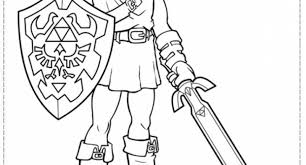 Small Picture the legend of zelda coloring pages free Archives Cool Coloring