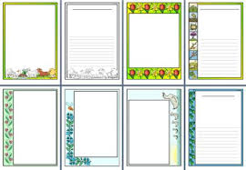 free printable borders teachers instant display teaching resources spring topic