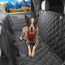 8 glyby dog car seat cover car backing seat cover for pet quilted waterproof non slip hammock convertible