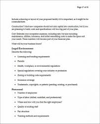 Small Business Proposal Sample Legal Environment Small Business ...