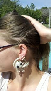 Design Your Own Plugs Octopus Earrings For Stretched Ears 6g 4g 2g 0g 00g Design
