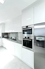 ikea white gloss kitchen doors glossy white kitchen cabinets get a white glossy kitchen with brilliant