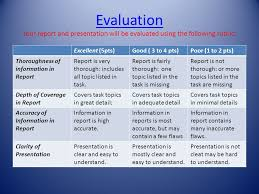here s to a healthy heart a web quest for th and th grade evaluation evaluation your report and presentation will be evaluated using the following rubric excellent