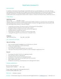 Resume Sample For Retail Job Full Image For List Work Skills Resume