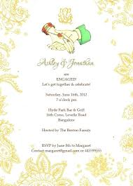 Engagement Invitation Card Template Traditional With Wordings Check