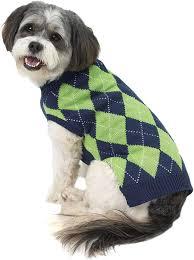 Petrageous Designs Dog Sweater Amazon Com Petrageous Designs Alex S Argyle Sweater Navy
