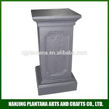 garden pedestal. Garden Pedestal Stand For Flowers Outdoor Flower Pot Pedestals L