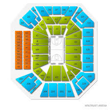 Wintrust Arena Seating Chart With Rows Uic Flames At Depaul Blue Demons Tickets 12 14 2019 1 00