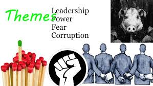 lord of the flies annotation guide leadership power fear corruption themes
