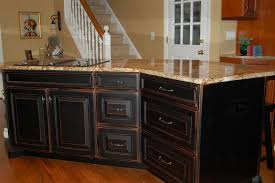 painting kitchen cabinets black all you must know about cabinet marvelous rustic painted cabinets