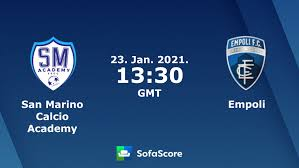 San Marino Calcio Academy Empoli live score, video stream and H2H results -  SofaScore