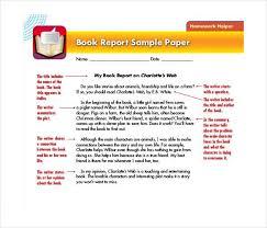 Free Book Report Templates 9 Sample Book Report Templates Pdf 356613585005 Free Book Report