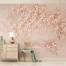 beibehang behang luxury and elegant 3d new flowers rose gold wallpaper mural tv background painting wall