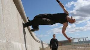 parkour a pastime born on the streets moves indoors and uptown