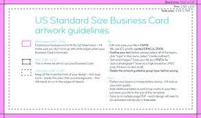 Moo Business Card Size Template Ectam