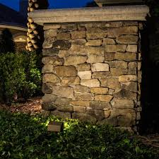 outdoor stone wall lighting home decor ideas