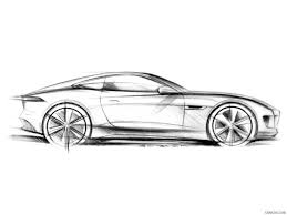 2015 Jaguar F-Type R Coupe - Design Sketch   HD Wallpaper #58