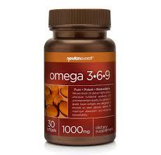 <b>OMEGA 3-6-9</b> 1000mg <b>30 Softgels</b> by Newton-Everett Nutraceuticals