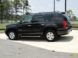Black 2008 Chevrolet Tahoe Z71 4x4 Exterior Photo #50470312 ...