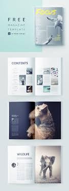 Indesign Magazine Templates Stunning Photography Magazine Template For Indesign Free