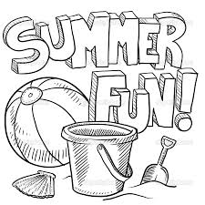 Small Picture Summer Coloring Pages Of Printable Items Coloring Coloring Pages