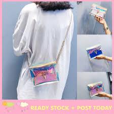 <b>HOT SALE</b>  <b>Fashion Women</b> Laser Transparent Crossbody Bags ...