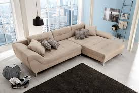 Couch Beige Stoff