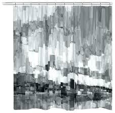 grey chevron shower curtains. Black White Grey Shower Curtain And Curtains Jacquard  Chevron