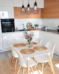 small kitchen tables that give harmony