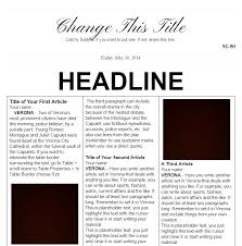 Newspaper Template For Photoshop 18 Print Ready Newspaper Templates Docx Psd Ai Xdesigns