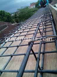Tampilan pondasi rumah langsung slop bawah ukuran 20×20.cm untuk ukuran cakar ayam 70×70.cm kedalaman 1.meter besi. Harga Besi Jadi Besi Sudah Dirangkai Griyamania
